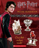 Harry Potter and the Goblet of Fire Deluxe Sticker Book [With Stickers]