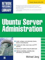 Ubuntu Server Administration PDF