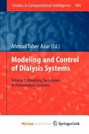 Modelling and Control of Dialysis Systems