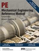 Mechanical Engineering Reference Manual PDF