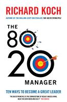 The 80 20 Manager PDF