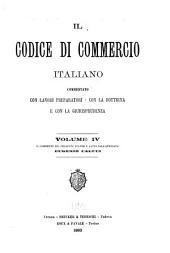 Il Codice di commercio italiano: Volume 4