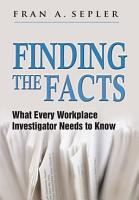 Finding the Facts PDF
