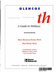 Glencoe Health Book PDF