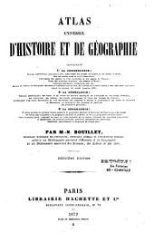 Atlas universel d'histoire et de geographie: contenant la chronologie, la genealogie, la geographie