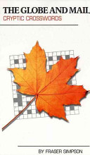The Globe and Mail Cryptic Crossword Book Book