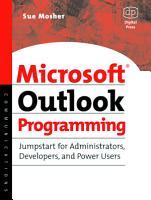 Microsoft Outlook Programming PDF