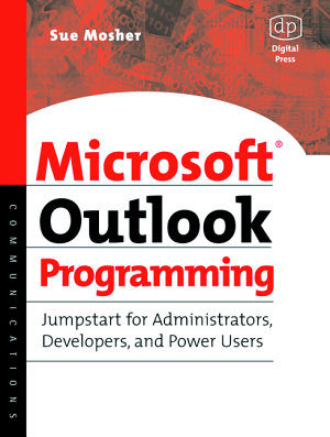 Microsoft Outlook Programming PDF