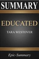 Summary  Educated a Comprehensive Summary to Tara Westover s Book PDF