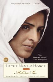 In the Name of Honor: A Memoir