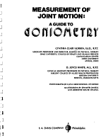 Measurement of Joint Motion PDF