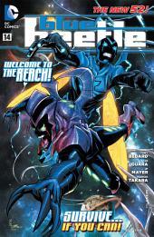 Blue Beetle (2011-) #14