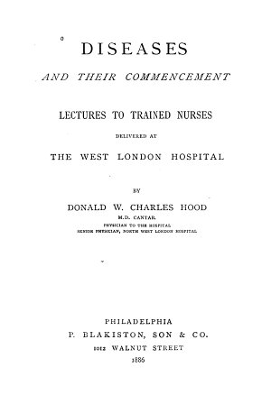 Diseases and Their Commencement