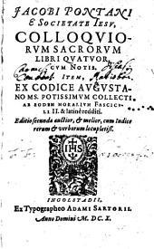 Colloquia sacra