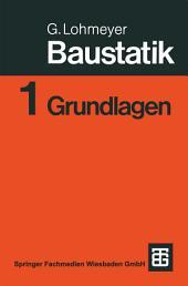 Baustatik: Teil 1: Grundlagen, Ausgabe 5