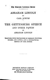 Abraham Lincoln: Volume 1