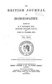 The British Journal of Homoeopathy: Volume 42