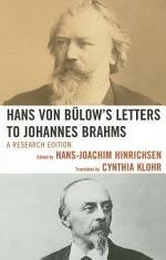 Hans Von Bülow's Letters to Johannes Brahms