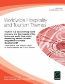 Tourism in a Transforming World Economy and the Impacts of the Brave New World PDF