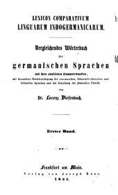 Vergleichendes Wörterbuch der gothischen sprache: Bände 1-2