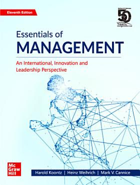 Essentials of Management   An International  Innovation and Leadership Perspective   11th Edition PDF