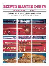 Belwin Master Duets (Trombone), Easy Volume 2