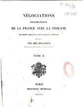 Négociations diplomatiques de la France avec la Toscane