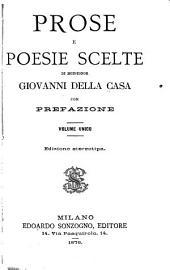 Prose e poesie scelte: Volume 1