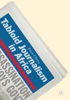 Tabloid Journalism in Africa PDF