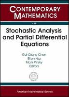 Stochastic Analysis and Partial Differential Equations PDF