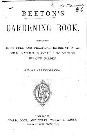 Beeton s Gardening Book     Illustrated