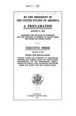 By the President of the United States of America  A Proclamation  August 8  1918 PDF
