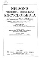 Nelson s Perpetual Loose leaf Encyclop  dia PDF