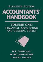 Accountants  Handbook  Volume 1 PDF