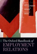 The Oxford Handbook of Employment Relations PDF