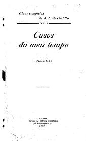 Casos do meu tempo: Volume 4