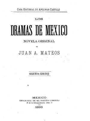 Los dramas de M  xico PDF