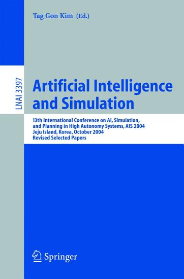 Artificial Intelligence and Simulation PDF
