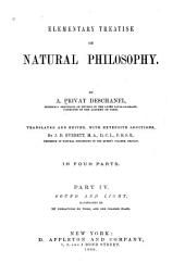 Elementary Treatise on Natural Philosophy: Part 4