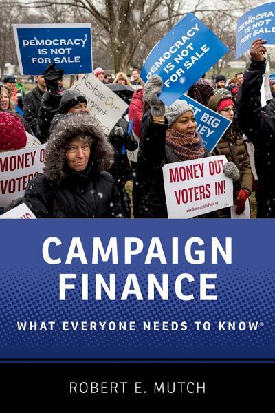 Campaign Finance Pdf Book