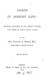 Christ in modern life: sermons