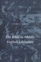 The Bible in Early English Literature PDF