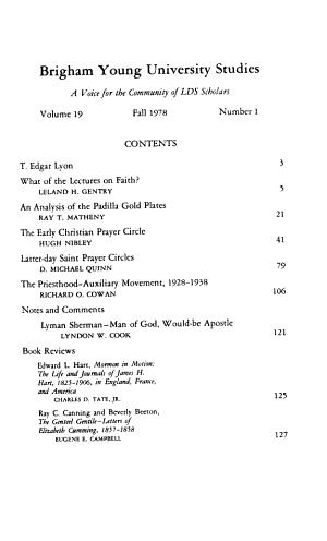 Brigham Young University Studies PDF