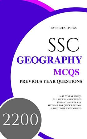 DP s SSC GK Subjectwise MCQ Series  GEOGRAPHY  Previous Year Questions  PDF