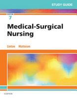 Study Guide for Medical Surgical Nursing E Book PDF