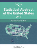 Proquest Statistical Abstract of the United States 2019 PDF