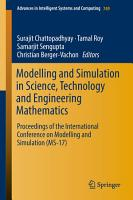 Modelling and Simulation in Science  Technology and Engineering Mathematics PDF