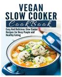 Vegan Slow Cooker Cookbook