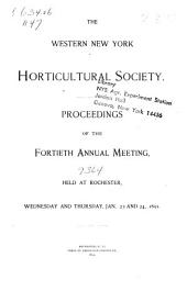 Proceedings of the 1st- Annual Meeting, 1855-