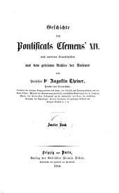 Geschichte des Pontificats Clemens XIV